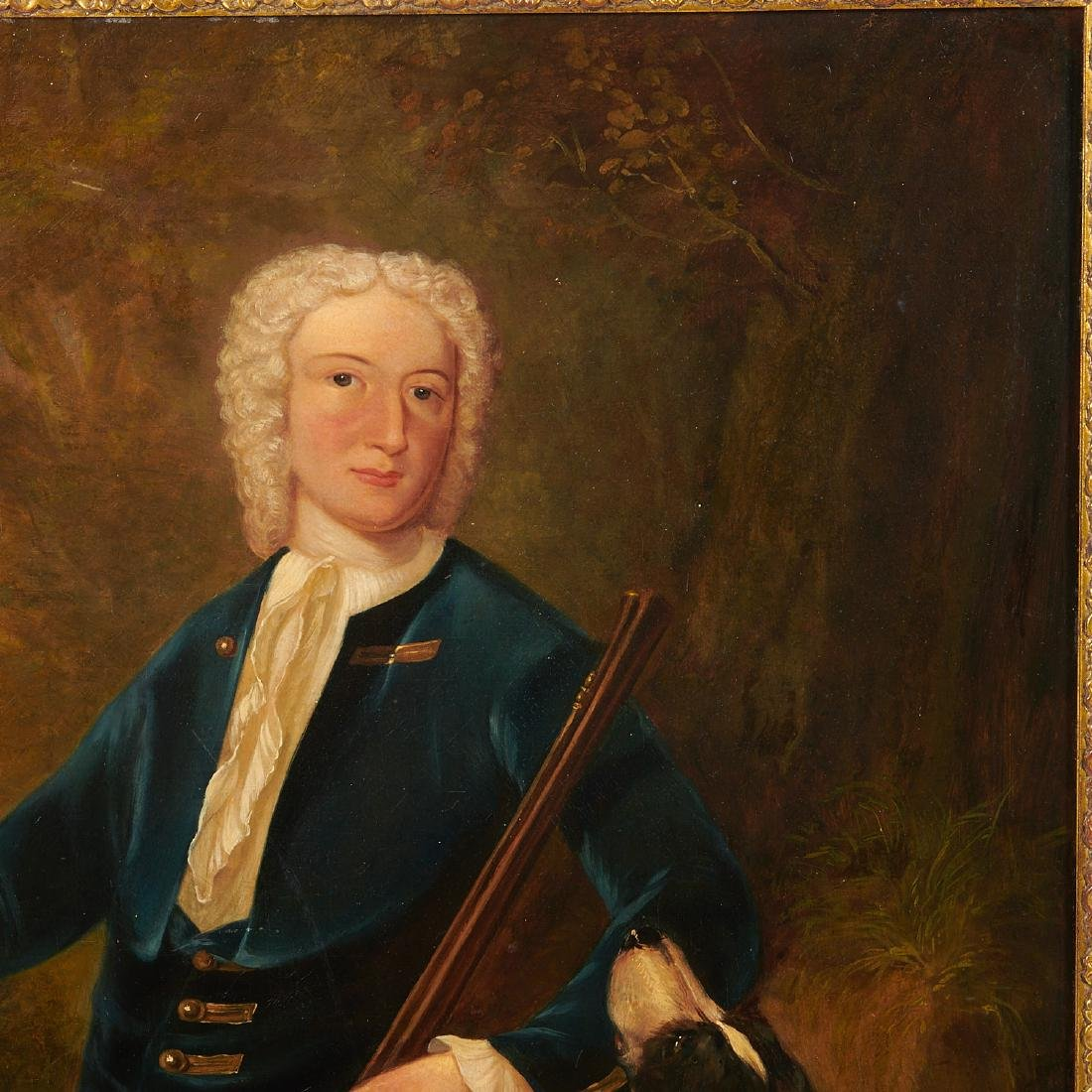 English School, Gentleman on a Hunt, 18th/19th c. - 3