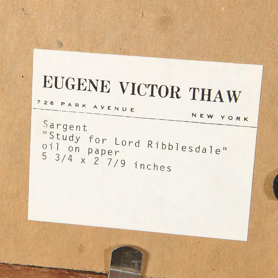 John Singer Sargent (attrib.), Lord Ribblesdale - 7