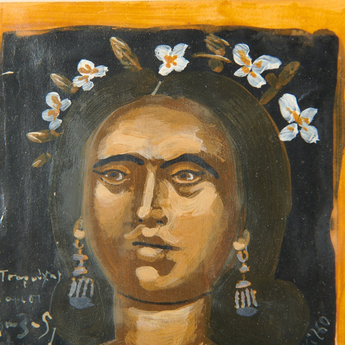 Yiannis Tsarouchis, Portrait of a woman, 1951 - 4