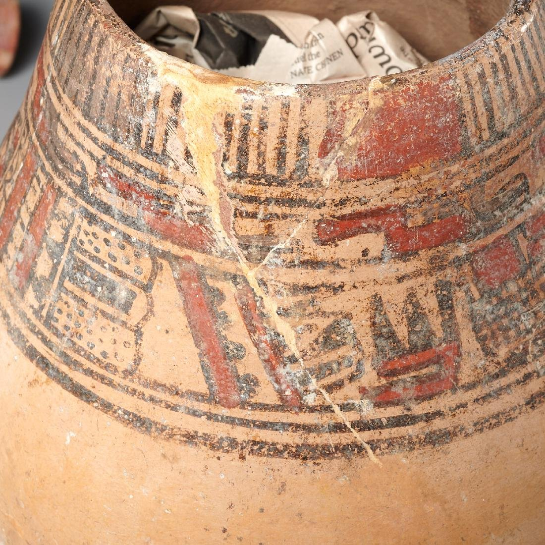 Group (4) Pre-Columbian terracotta vessels - 4