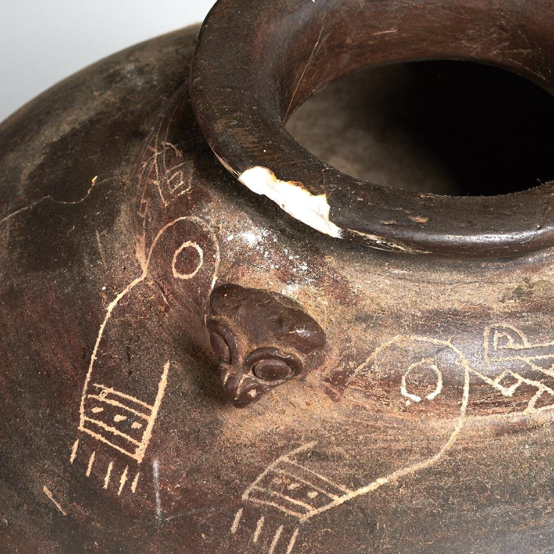 Group (4) Pre-Columbian terracotta vessels - 5