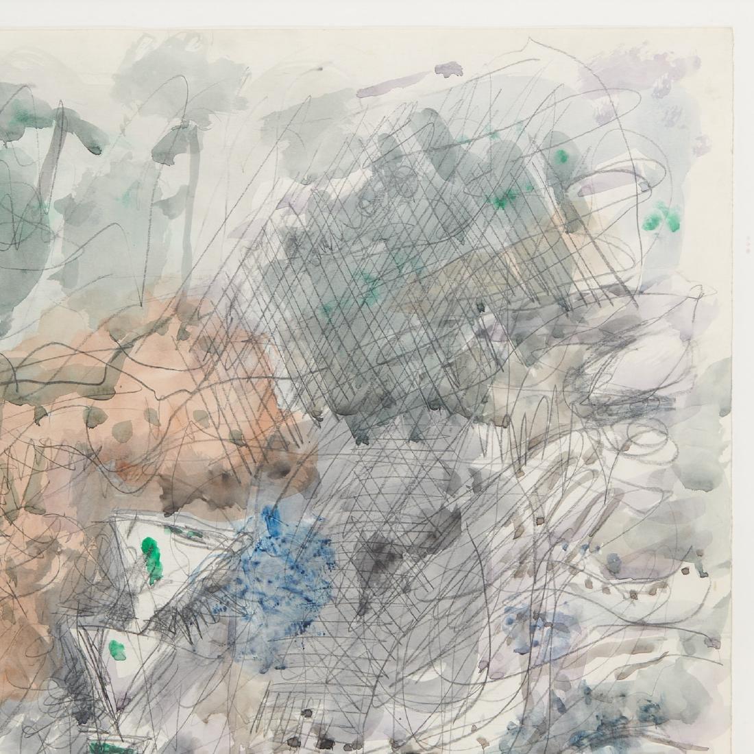 Avigdor Stematzky, Abstract Landscape, 1980 - 2