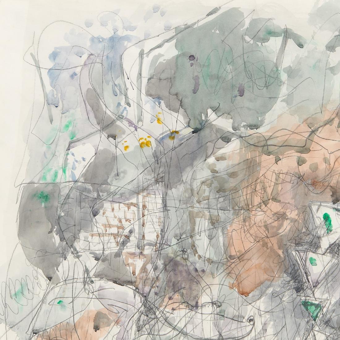 Avigdor Stematzky, Abstract Landscape, 1980 - 3