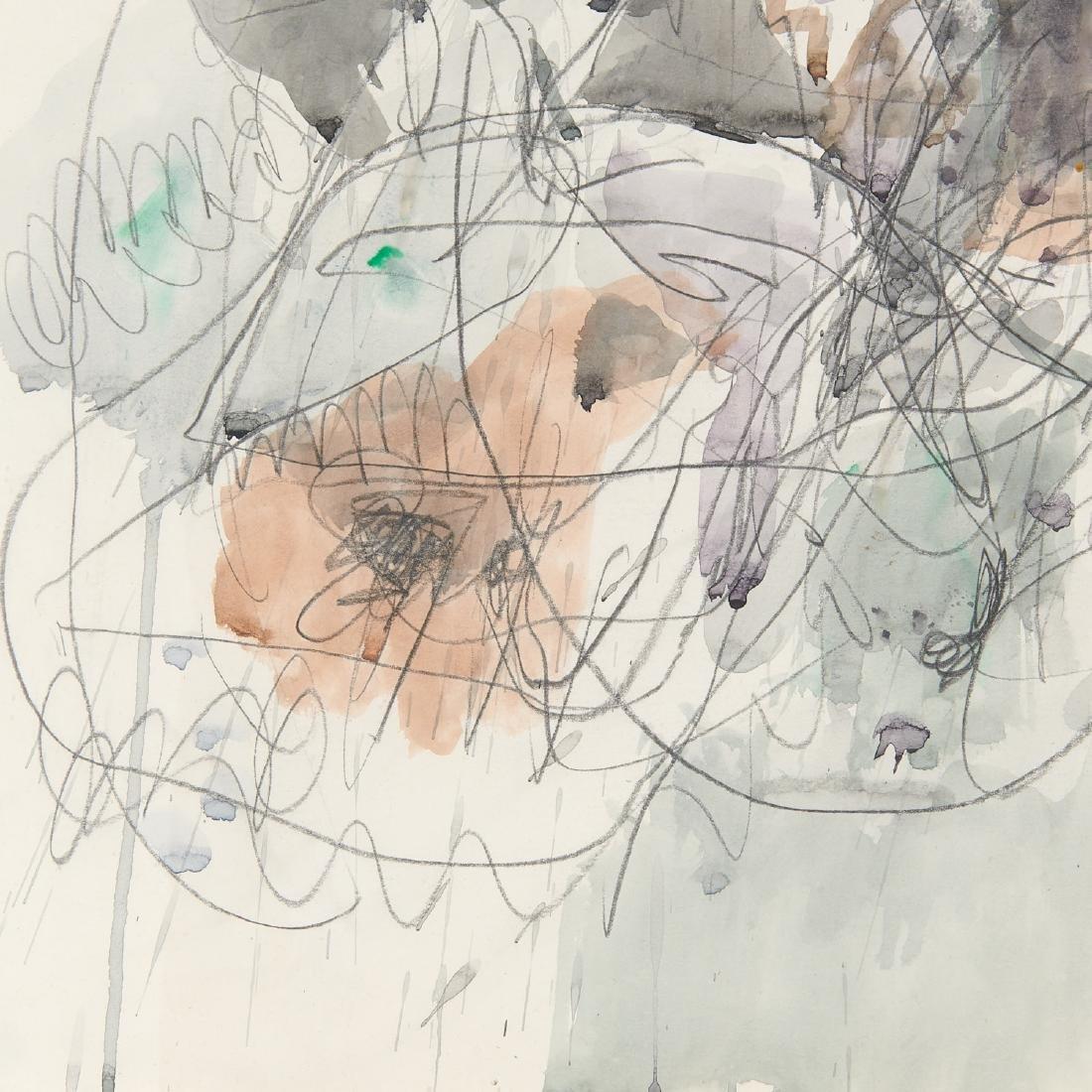 Avigdor Stematzky, Abstract Landscape, 1980 - 5