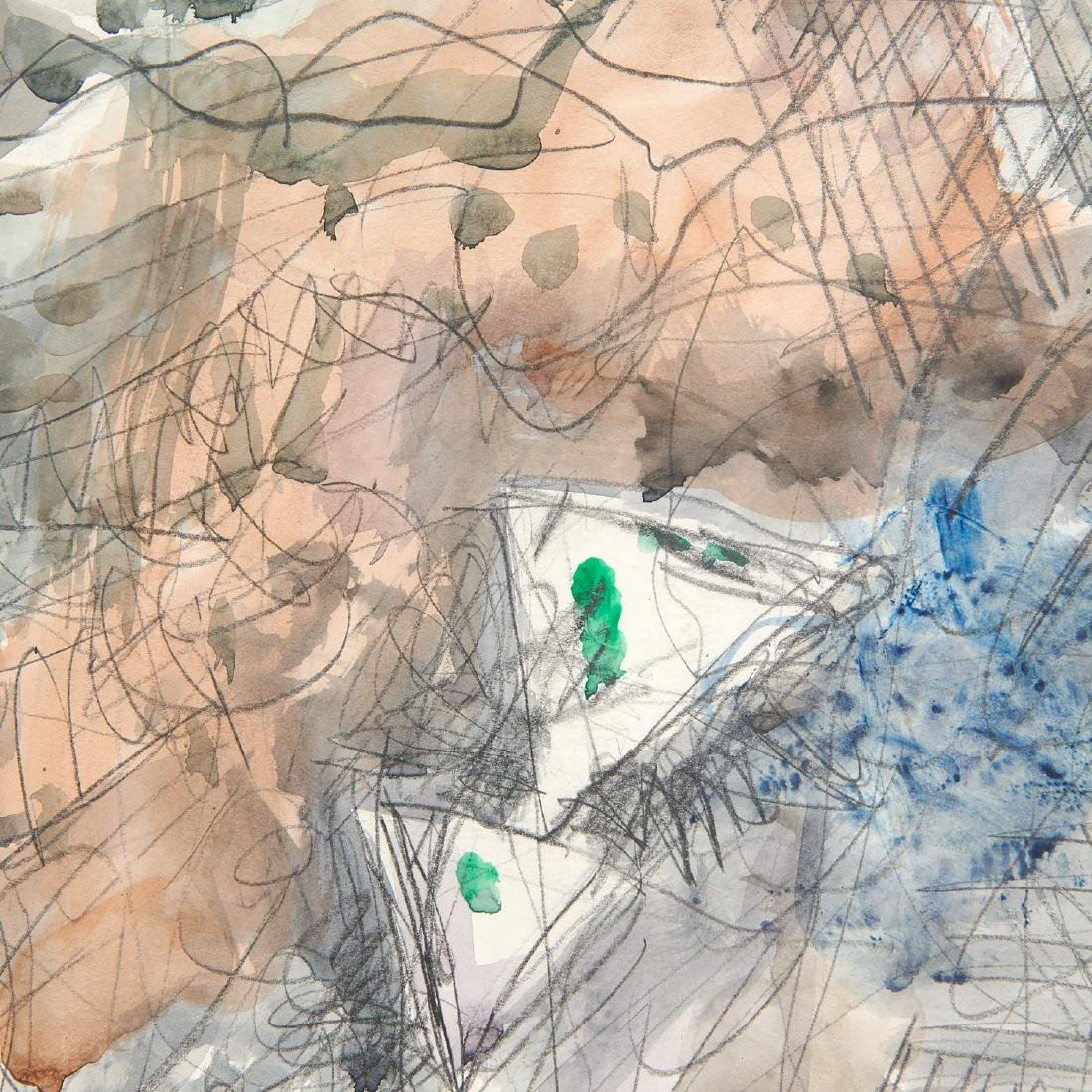 Avigdor Stematzky, Abstract Landscape, 1980 - 6