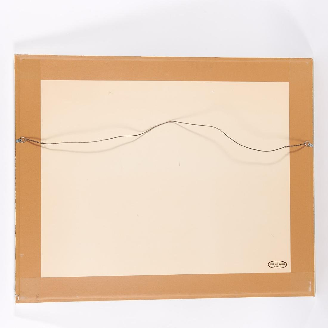 Avigdor Stematzky, Abstract Landscape, 1980 - 7