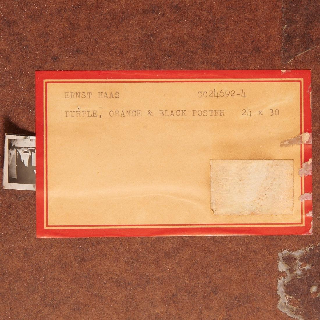 Ernst Haas, (2) Photographs, 1969 - 10