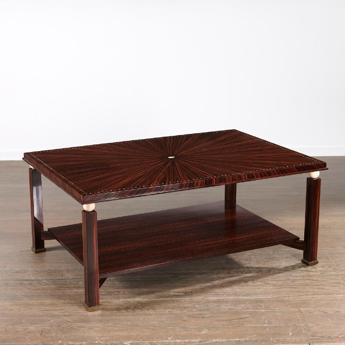 Mongiardo Studio Ruhlmann style coffee table