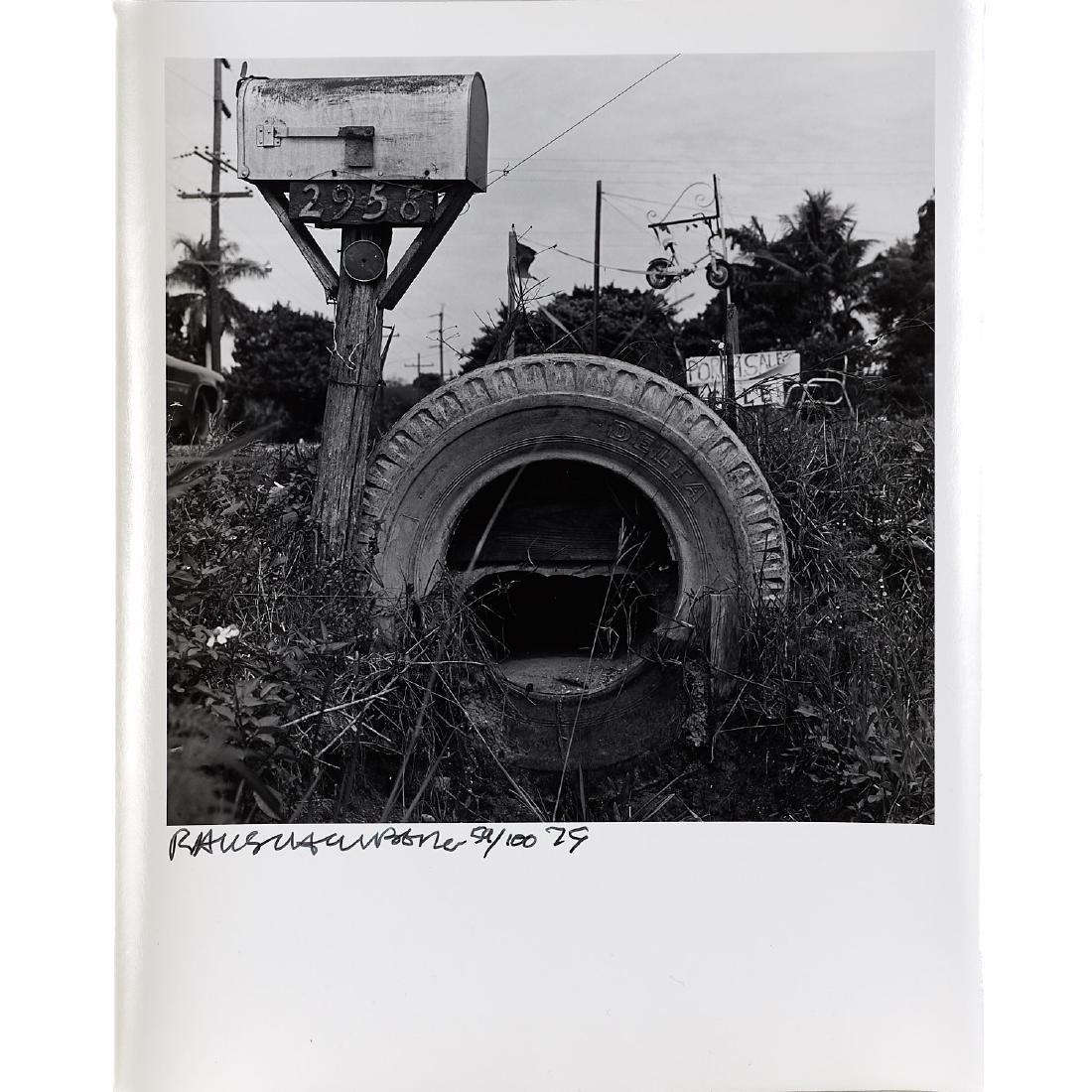 Robert Rauschenberg, Mailbox and Tire, 1979