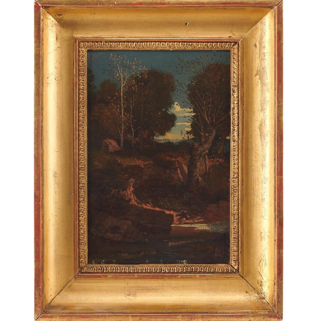 Jean Joseph Bellel, Paysage, 1843
