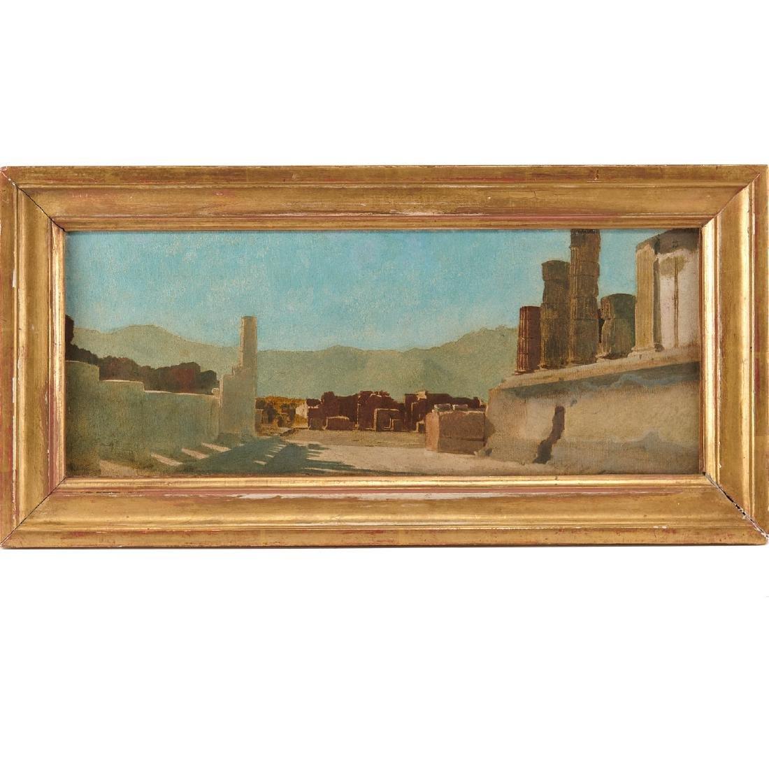 Claude-Ferdinand Gaillard, Vue de Pompei, c. 1887