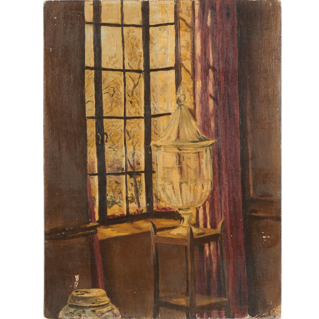 Fulco De Verdure, Still Life by Window, c. 1930s