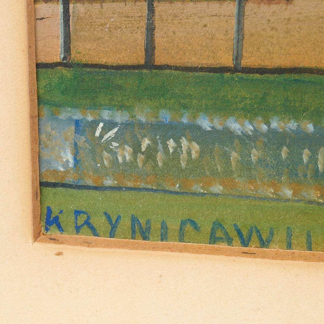Nikifor Krynicki, View from Krynica - 6