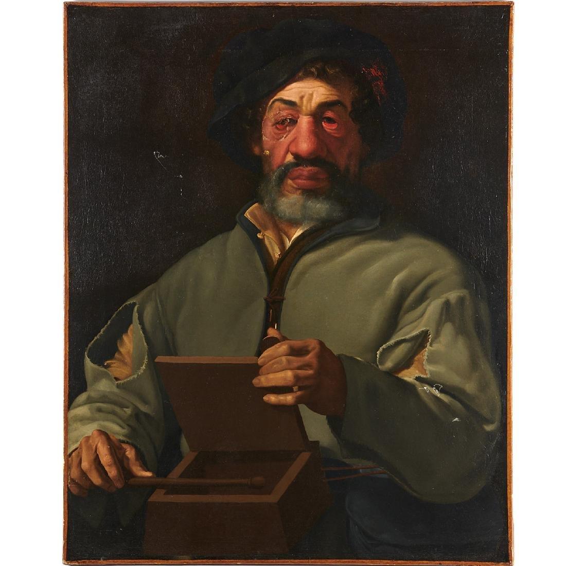 Utrecht School, The Magician, 17th/18th c.