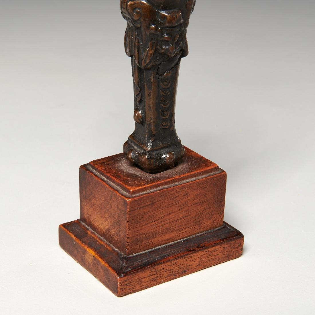 Renaissance era cabinet bronze - 5