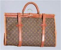 Louis Vuitton monogram folding garment bag