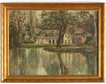 R.E. Perrot, painting