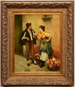 N. Henry Bingham, large painting