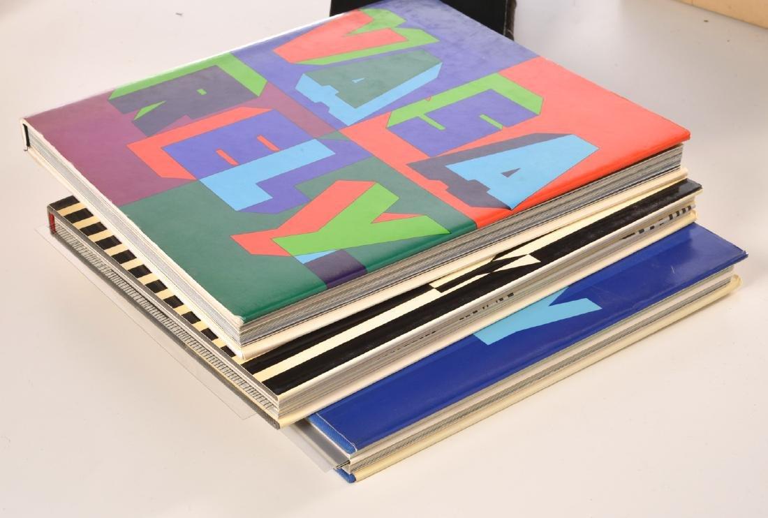 BOOKS: (3) Vols Victor Vasarely, 1969 - 10