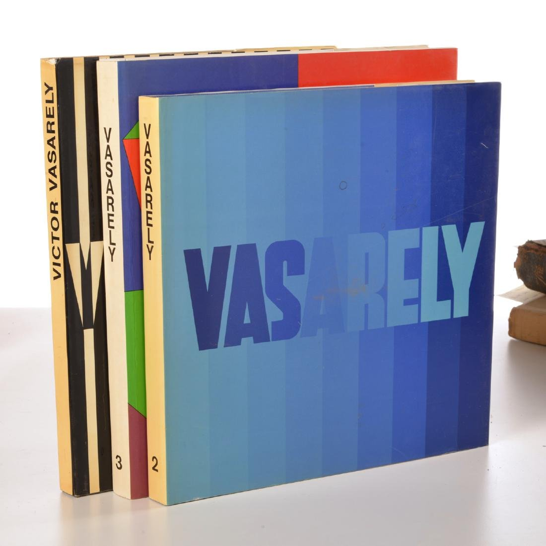BOOKS: (3) Vols Victor Vasarely, 1969