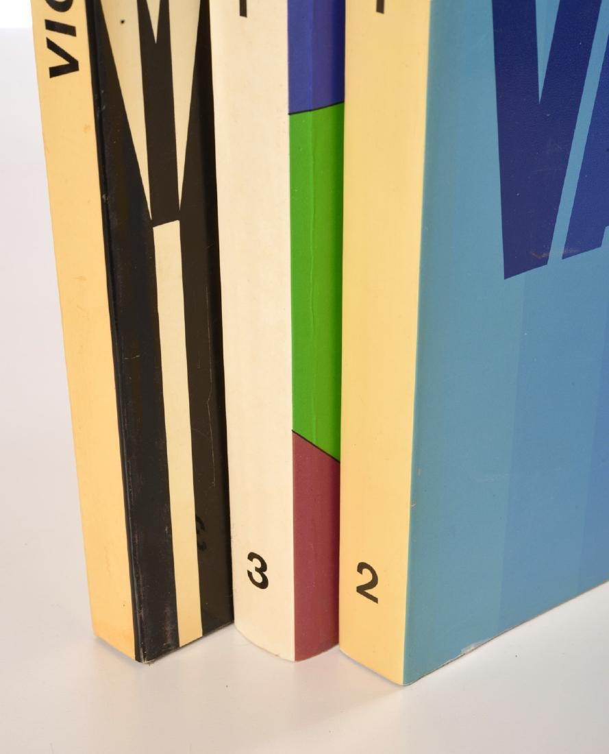 BOOKS: (3) Vols Victor Vasarely, 1969 - 3