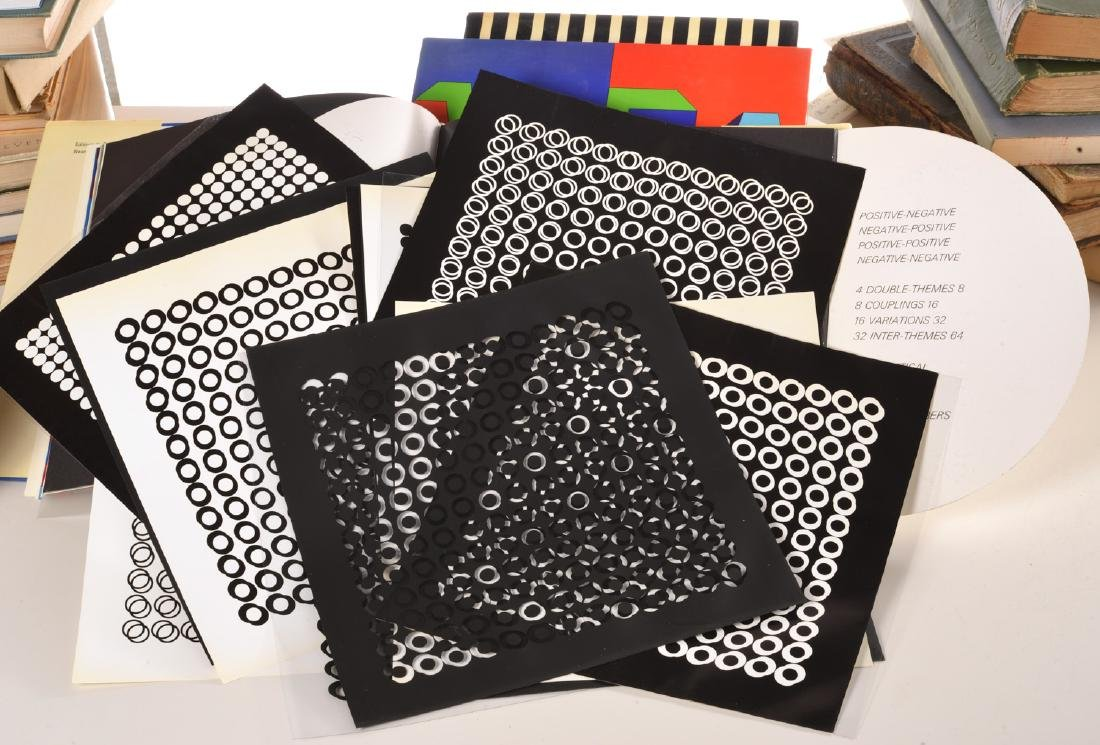 BOOKS: (3) Vols Victor Vasarely, 1969 - 5