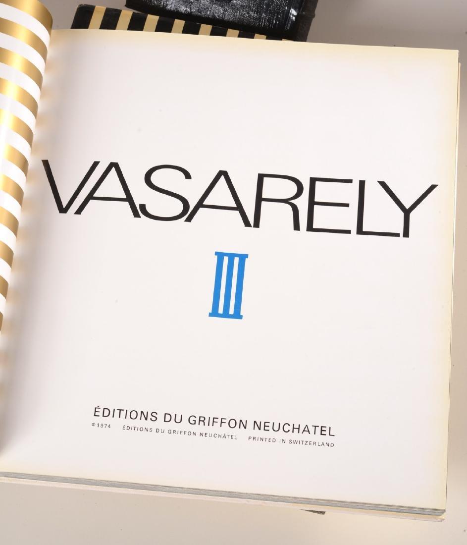 BOOKS: (3) Vols Victor Vasarely, 1969 - 6