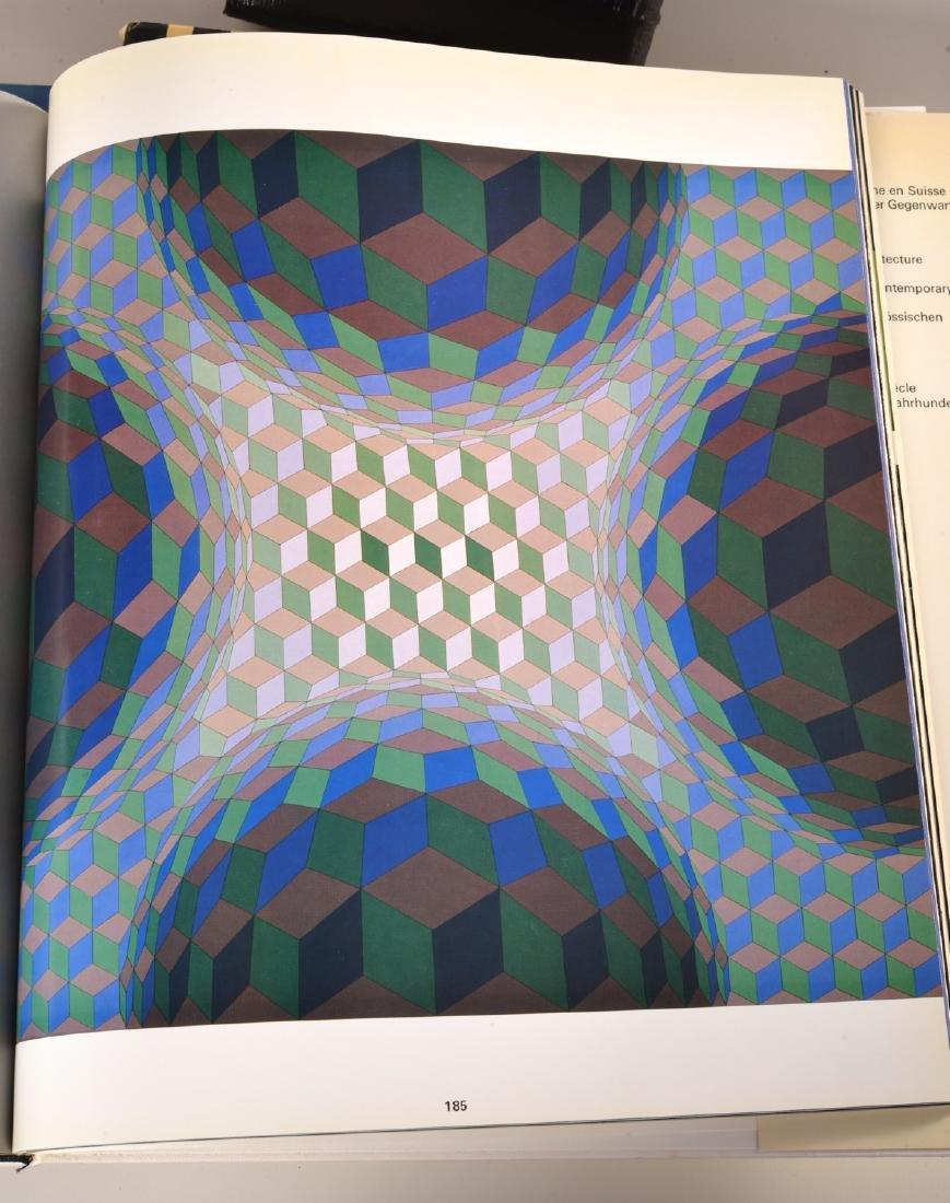BOOKS: (3) Vols Victor Vasarely, 1969 - 7