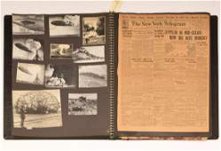 Oversize Zeppelin scrapbook