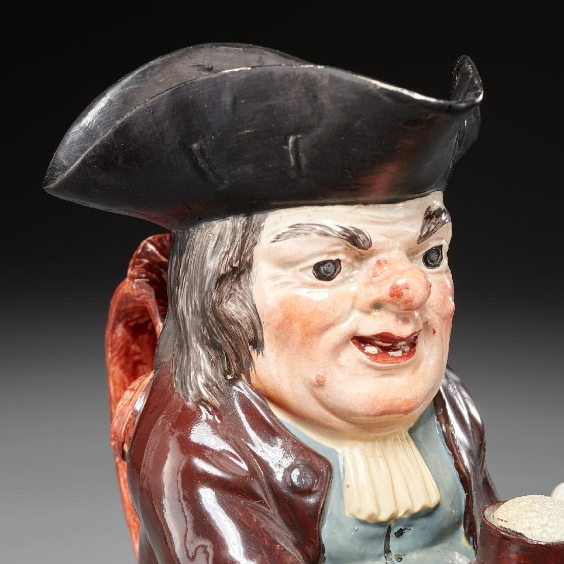 English pearlware Toby jug c. 1800s - 2