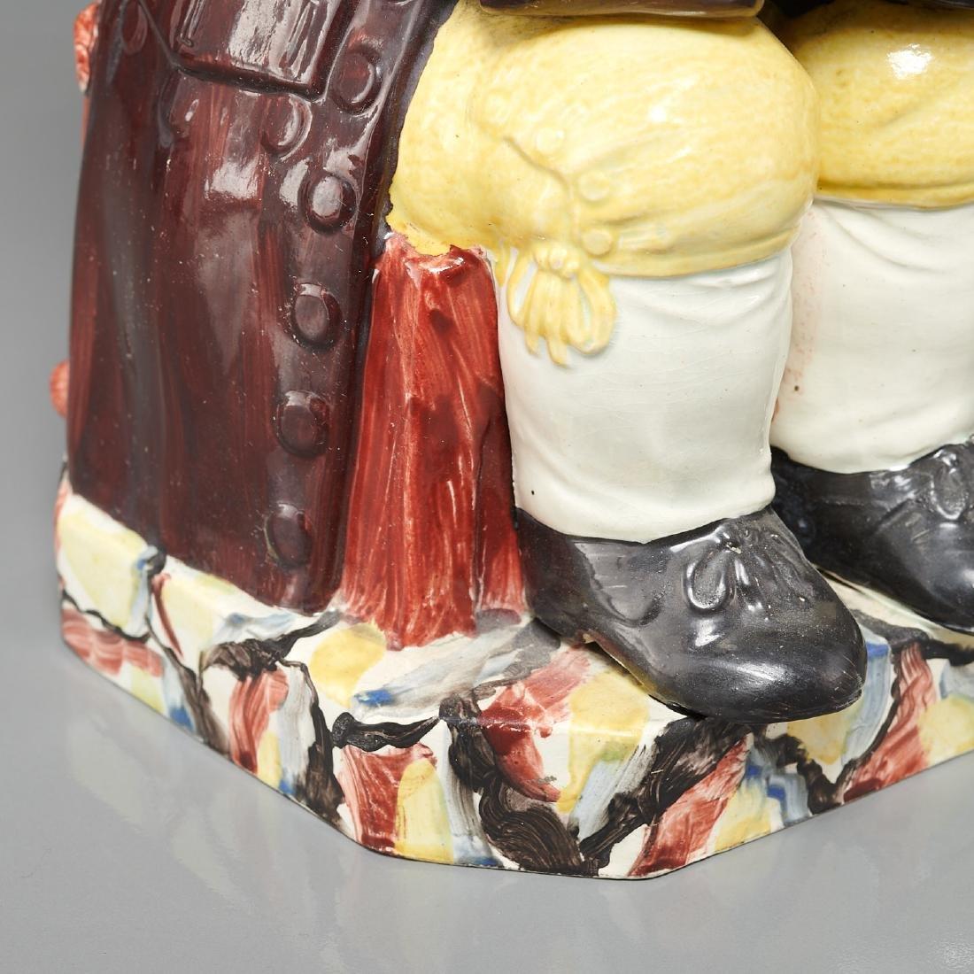 English pearlware Toby jug c. 1800s - 4