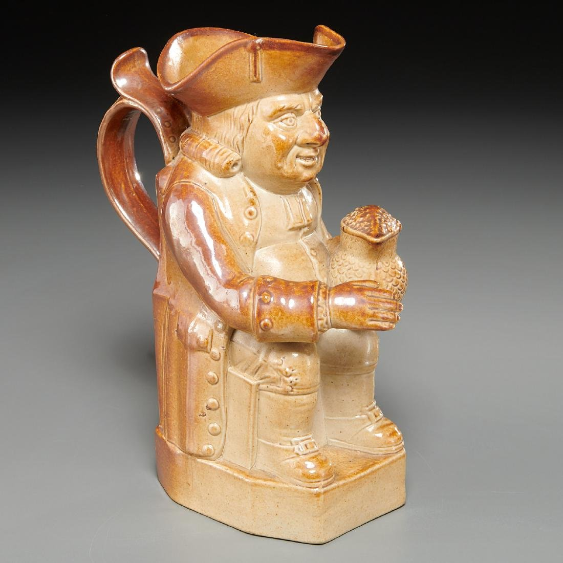 English stoneware Toby jug, c. 1800's