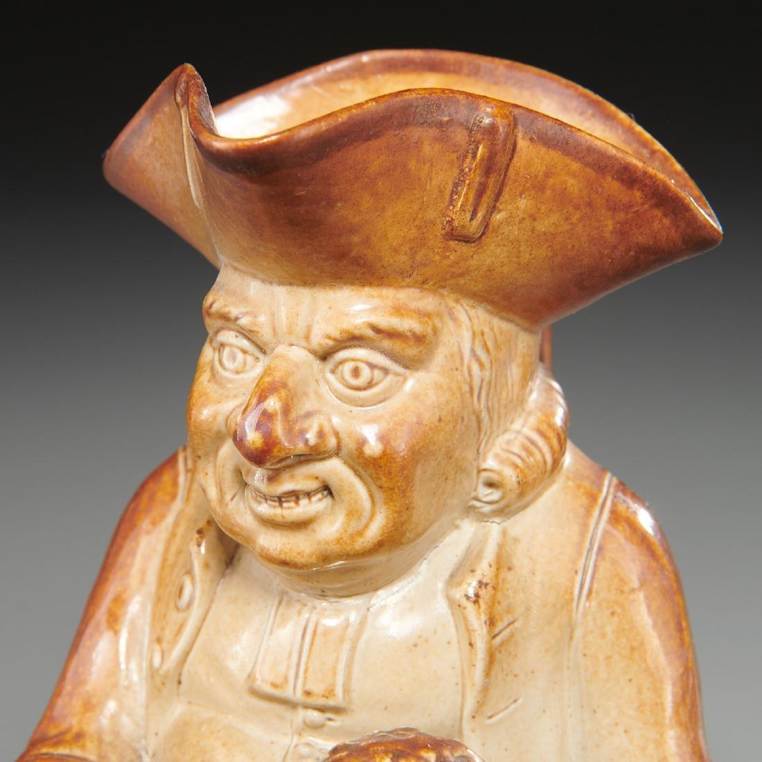 English stoneware Toby jug, c. 1800's - 2