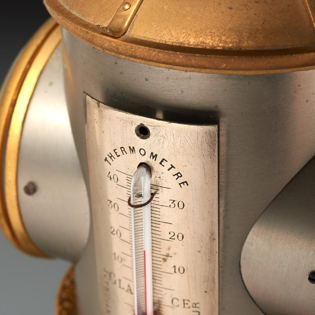 Belle Epoque automaton lighthouse clock barometer - 5