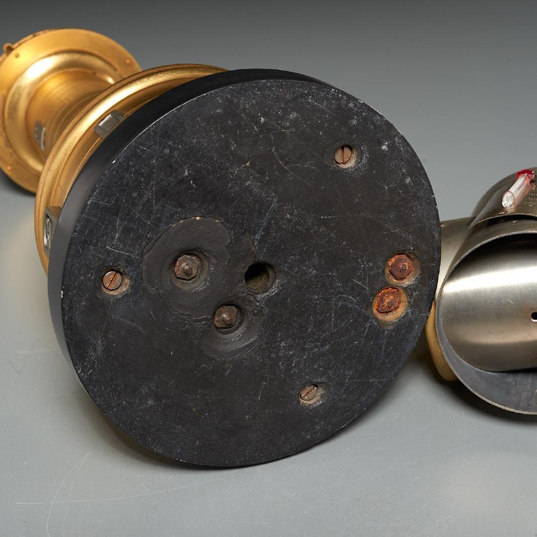 Belle Epoque automaton lighthouse clock barometer - 8