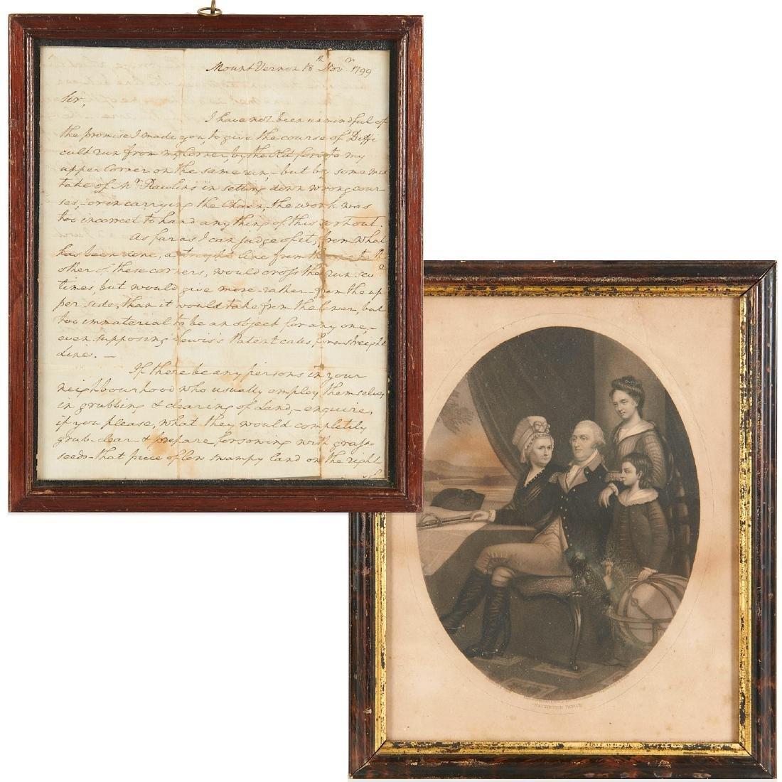 George Washington, autograph letter, signed