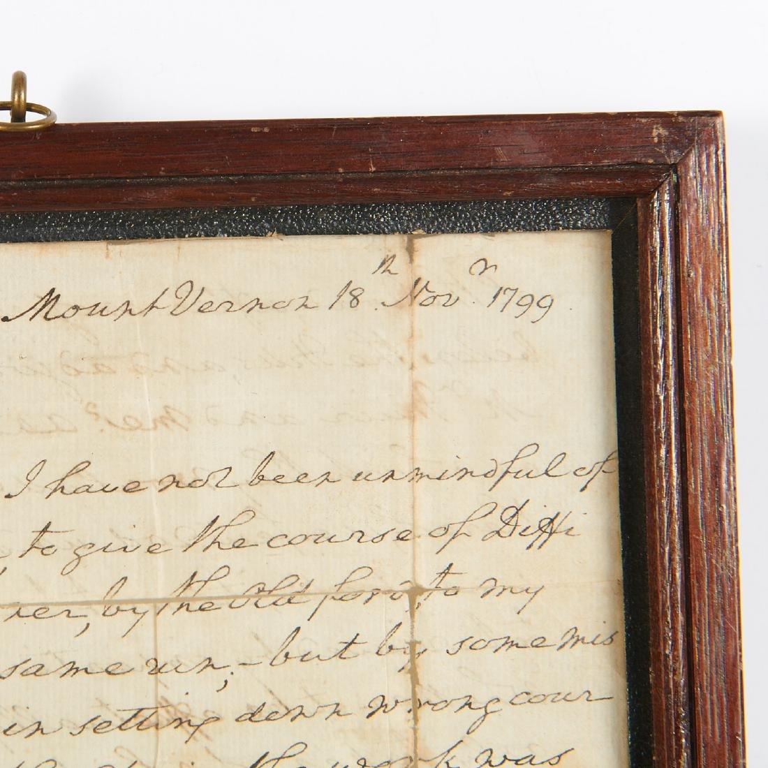 George Washington, autograph letter, signed - 2