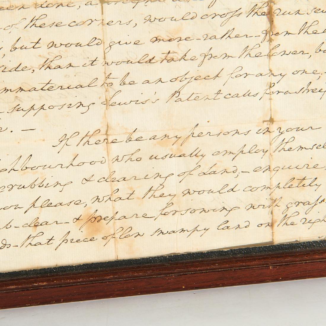 George Washington, autograph letter, signed - 3