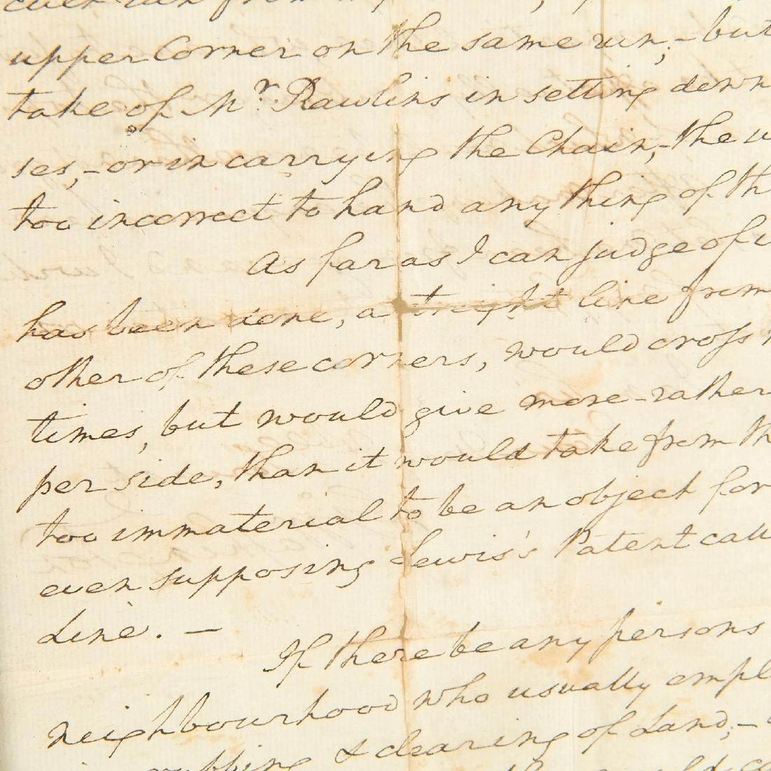 George Washington, autograph letter, signed - 4