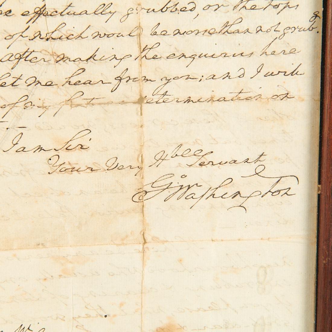 George Washington, autograph letter, signed - 6