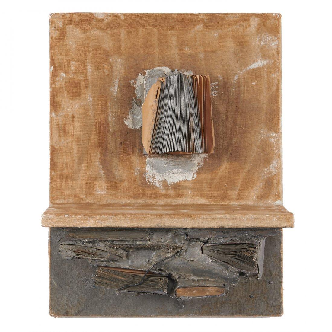 "John Latham, ""skoob"" painting, 1961 - 2"