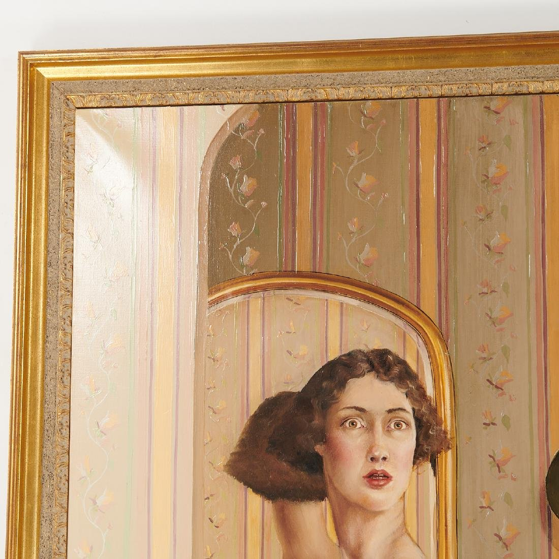 Claire Klarewicz-Okser, large scale painting, 1983 - 2