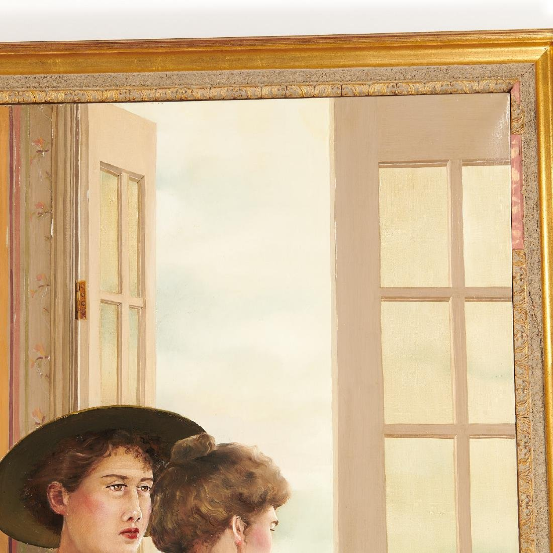 Claire Klarewicz-Okser, large scale painting, 1983 - 3