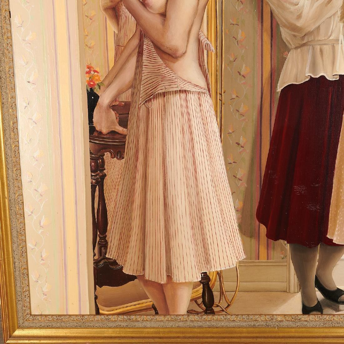 Claire Klarewicz-Okser, large scale painting, 1983 - 5