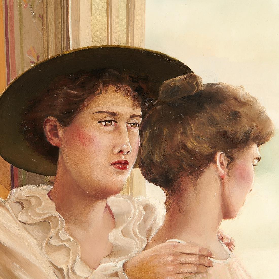 Claire Klarewicz-Okser, large scale painting, 1983 - 6