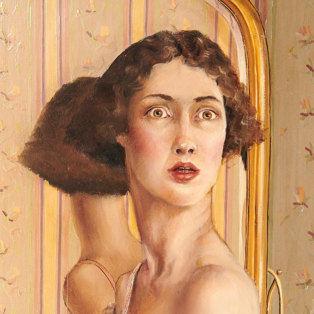 Claire Klarewicz-Okser, large scale painting, 1983 - 7