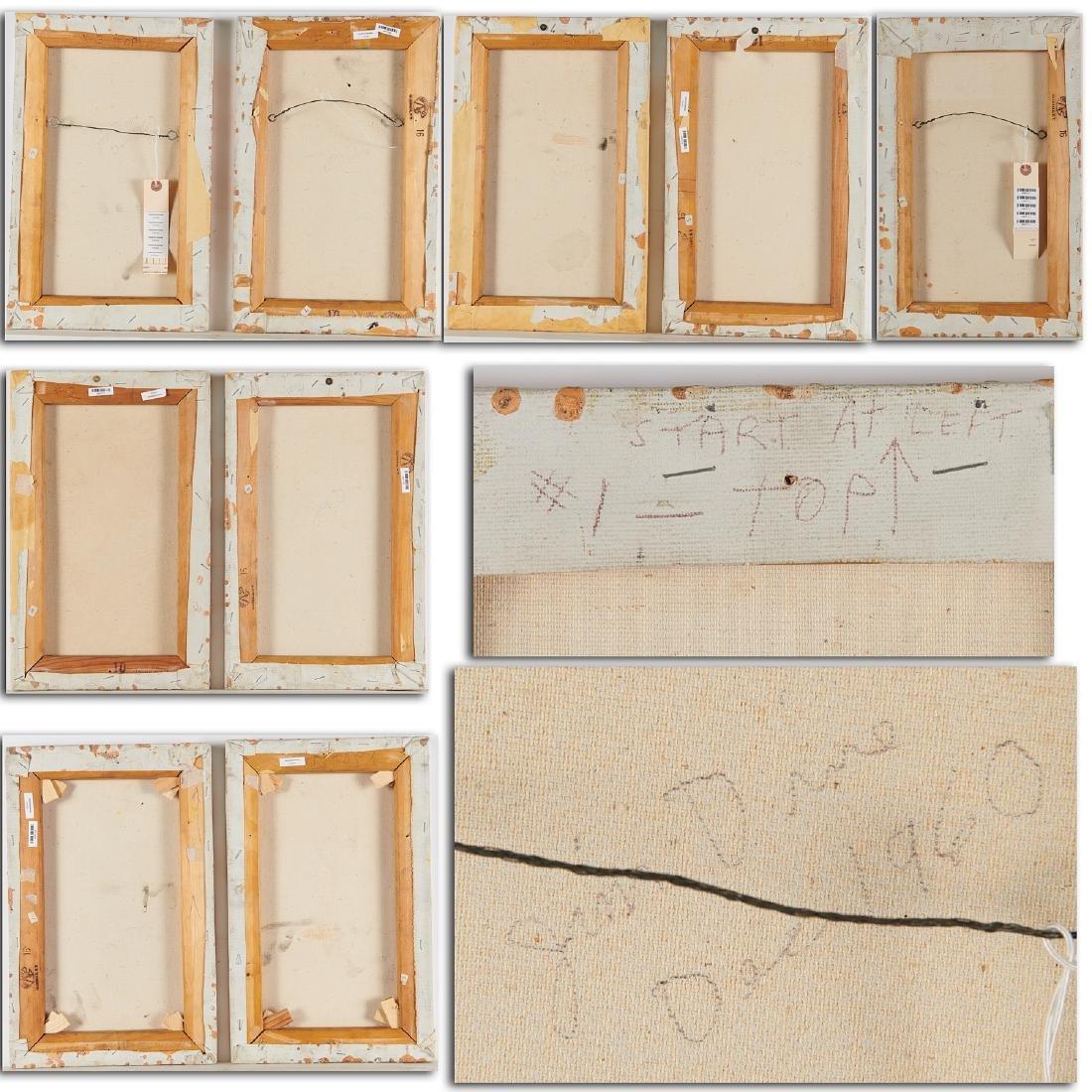 Jim Dine, (9) panel painting, 1959-1960 - 10