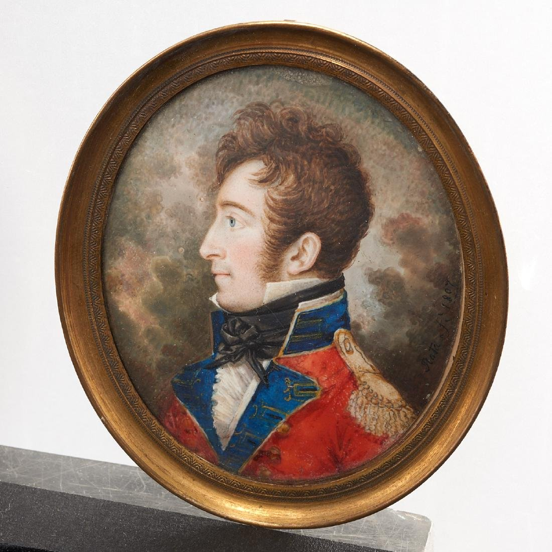 Nice collection European portrait miniatures - 8