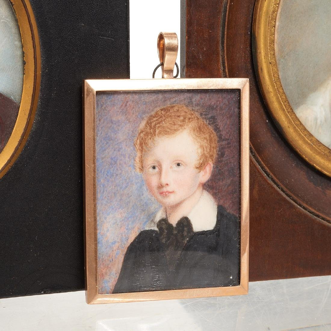 Nice collection European portrait miniatures - 3