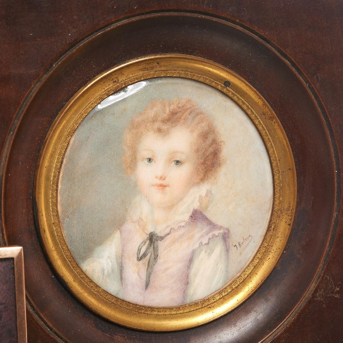 Nice collection European portrait miniatures - 4